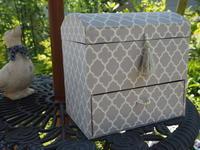 ドーム型宝箱スタイル引き出し付き - グリママの花日記