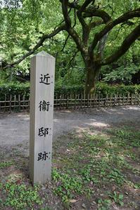 幕末京都逍遥その59「近衛邸跡(京都御苑)」 - 坂の上のサインボード