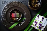 4月のお茶の時間 虎屋の季節の羊羹  菖蒲あわせ - LIVING PHOTO