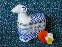 ホロハーザの羊のトリンケット・ボックス -  Der Liebling ~蚤の市フリークの雑貨手帖2冊目~
