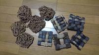 チマチマと一人籠編み教室 - 古布や麻の葉