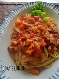 息子お昼ごはん - 料理研究家ブログ行長万里  日本全国 美味しい話