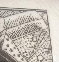 陶板に描く☆ - Italian styleの磁器絵付け