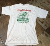 5月5日入荷!80sデッドストックバドワイザーBUDWEISER Tシャツ! - ショウザンビル mecca BLOG!!