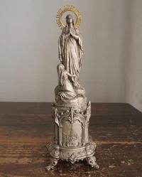 ルルドの聖母の出現と少女  / F190 - Glicinia 古道具店