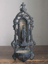 ルルドの聖母マリア ベネティエ 十字架  / F188 - Glicinia 古道具店