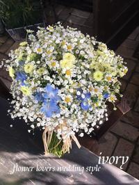〜4月28日の婚礼から〜♬ -  Flower and cafe 花空間 ivory (アイボリー)