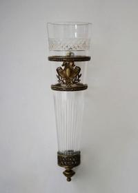 Bronze & Cutglass 掛け花入No:5 - GALLERY GRACE ギャラリーグレース BLOG