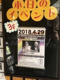 DOVE Charity Live NEWBORN! ~その1~ - GuitarとVOLVOと虎太郎と…
