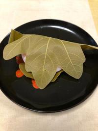 柏餅 - 庶民のショボい食卓
