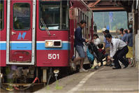 新緑色の長良川鉄道♯3 - あ お そ ら 写 真 社