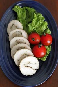 しっとりジューシーな鶏ハムと、新しいお皿 - Takacoco Kitchen