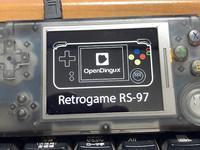 RETROGAME RS-97 OpenDigux - ゴリゴリなおっさんの裏ゲームブログ(GORIO'S BLOG)