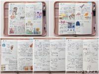 サブ手帳(APJ)4月分ウィークリーページ - てのひら書びより