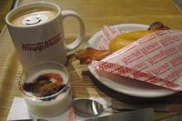 Krispy Kreme Doughnuts(クリスピー・クリーム・ドーナツ)『ドーナツバーガー』 - My favorite things