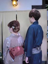 落ちついたお着物姿とヘアーアレンジと。 - 京都嵐山 着物レンタル&着付け「遊月」