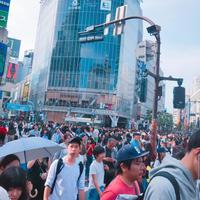 GW最終日、渋谷も人で溢れまくりです☆ - スーパーラテの日記☆☆