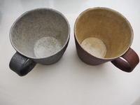 井内素さんのカップ届きました - うつわ楓店主たより