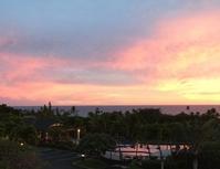 ハワイの夕陽は美しかった - 今の所無題