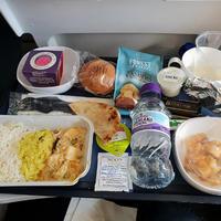 British Airwaysのヒンズーミールが美味しい! - おいしいは嬉しい