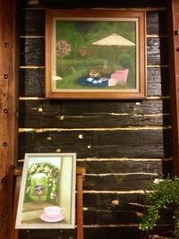 Hana の夜.. - coco diary 山口県 お花と絵と楽しいティータイム