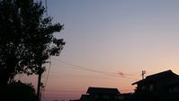 山沿いの日暮れは寒し遠蛙 - 十七文字や