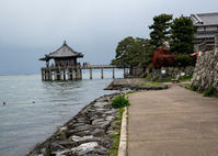 鯖街道から帰路、琵琶湖浮御堂へ ① - 写真の散歩道