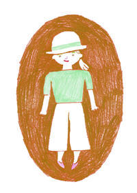 似合う帽子 麦わら帽子 - illustration note