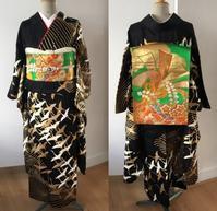柳太鼓結び 着物でパリ - 着物でパリ