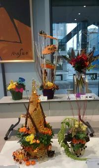 Halloween Flower Event at Oberlin University in 淵野辺(PFC) - オランダ王国スタイル フラワースクール 横浜    Champs Fleuris Izmi (シャン フルーリー イズミ)