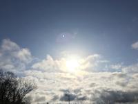 朝と夕の太陽 - 何もしない贅沢