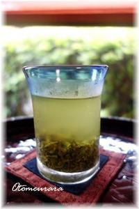 水出し緑茶 & English lesson 5.11 - 日々楽しく ♪mon bonheur