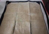 古布木綿裂き織前掛けJapanese Antique Textile Sakiori Maekak - 京都から古布のご紹介