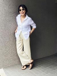 麻シャツ三昧 - madameHのバラ色の人生