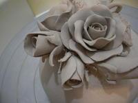 ■バラの器のリベンジ■ - ちょこっと陶芸
