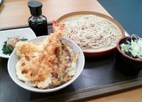 ASAKUSA TOKYOて書いてあんのね(笑)天丼てんや - はじまりはいつも蕎麦