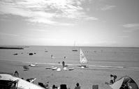 浜辺にて(その6) - そぞろ歩きの記憶