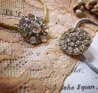 ●アンティークボタンのヘアアクセ - 英国古物店 PISKEY VINTAGE/ピスキーヴィンテージのあれこれ