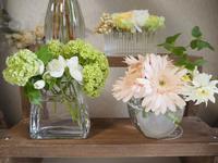 花飾りお役立ちアイテム♪ - 「花」と「自分」を楽しむ花教室*  fleur Nature-フルール ナチュール-