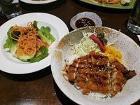 トンカツチキン&カフェ - NYの小さな灯り ~ヘアメイク日記~