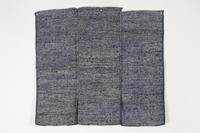 古布木綿裂き織前掛け佐渡Japanese Antique Textile Sakiori Maekake Sado - 京都から古布のご紹介