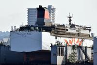 新「さんふらわあさつま」大阪南港撮影記 - 船が好きなんです.com