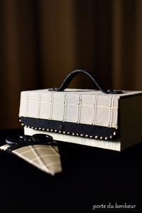 試作品のお道具箱 - A partir d'une seule piece  カルトナージュで私だけの空間創り