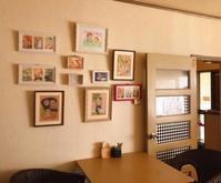 カフェうさももさんにて、絵を飾っていただきました。 - LoopDays     Sachiko's Illustration blog