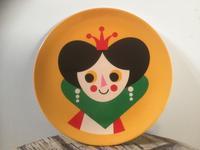 "OMM-design×インゲラ・アリア二ウス  ""メラミンプレート(Queen)""  【kr0060】 - LOB SHOP"
