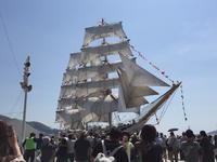帆船、かっこいいーー!!お勧めされた 長崎 帆船まつり へ - mayumin blog 2