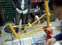 定休日の作業は…  「ダイナベクターさんへDV-1の組み立て」 - ベロエキップ便り <江東区清澄白河の自転車屋さん&ハンドメイドも好きな店>