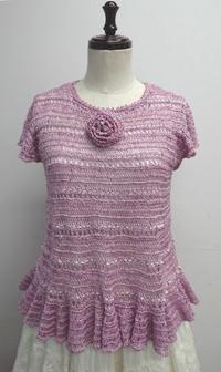 魔法の一本針編み1DAYレッスン♡Sweet Summer Sweater♡ - ヴォーグ学園心斎橋校ブログ