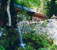 大滝神社で名水と御朱印をいただく - ピースケさんのお留守ばん