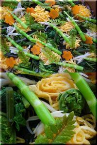 山菜ちらし寿司 - まさかり半島日記